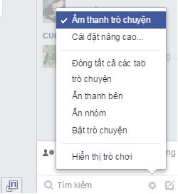 Tắt âm Facebook Chat - Facebook Messenger